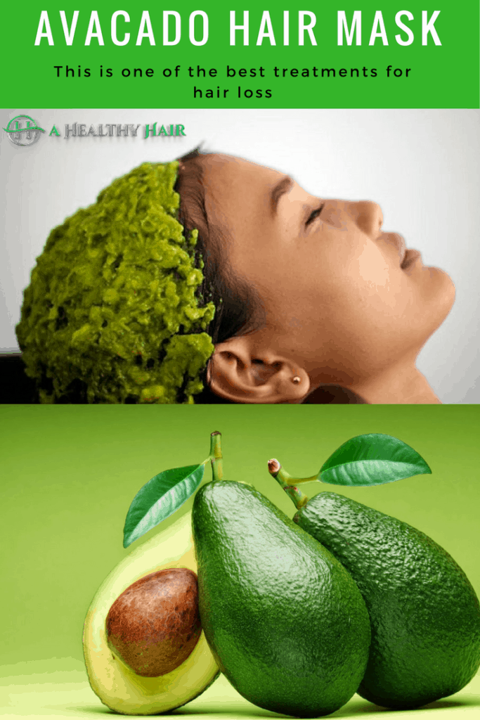 Avacado hair mask